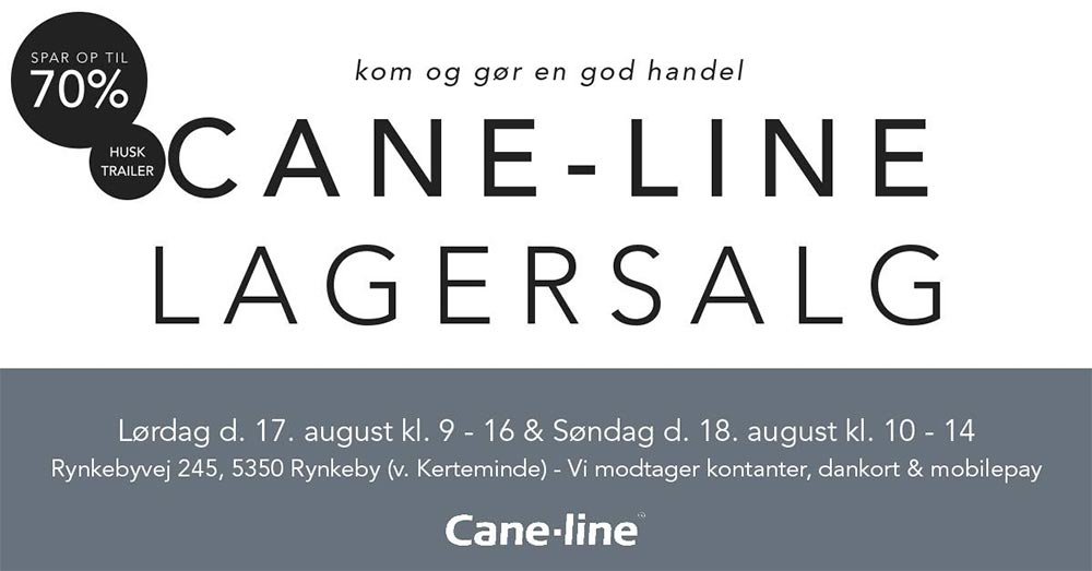 Cane-line lagersalg;