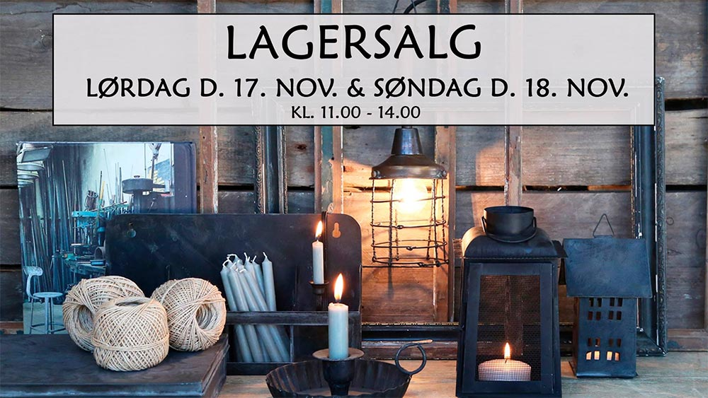 Chic Antique lagersalg;
