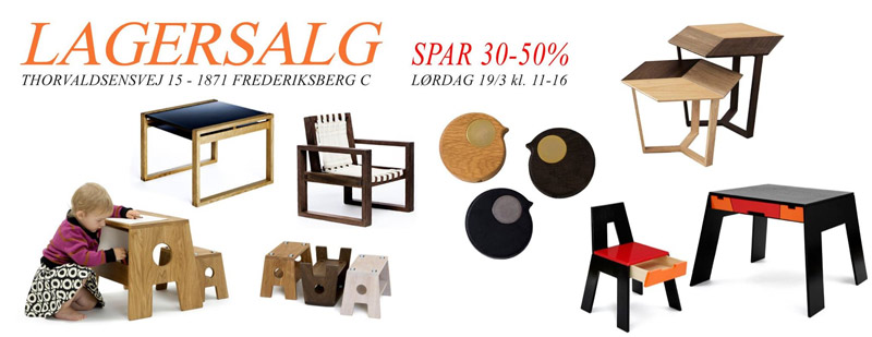 COLLECT furniture Lagersalg;