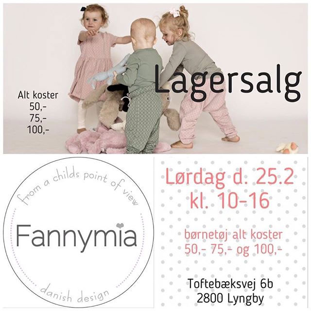 Fannymia lagersalg;