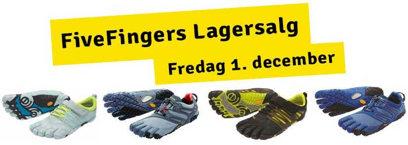 Fivefingers lagersalg;
