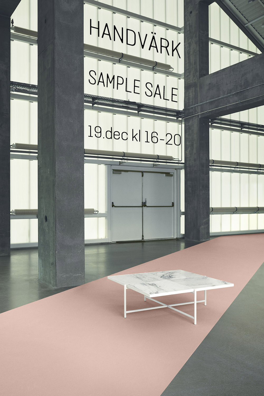 HANDVÄRK Sample Sale;