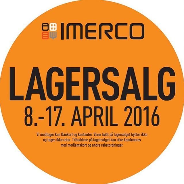 imerco lagersalg fredericia