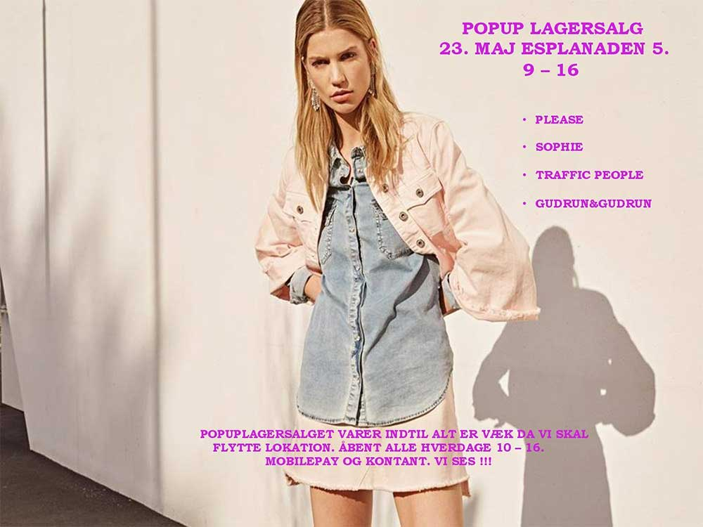 Stahl Fashion Agency Lagersalg;