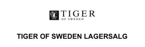 Tiger of Sweden lagersalg;