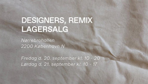 mere information omkring Designers Remix Lagersalg