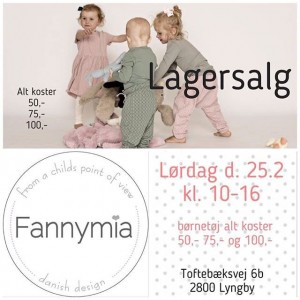 mere information omkring Fannymia lagersalg