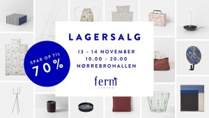 mere information omkring Ferm Living Lagersalg