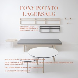 mere information omkring FOXY POTATO LAGERSALG
