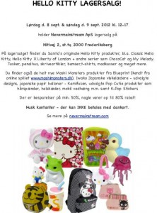 mere information omkring Hello Kitty Lagersalg
