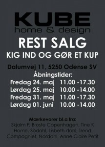 mere information omkring Kube Home & Design lagersalg