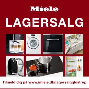 mere information omkring Miele lagersalg