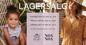 mere information omkring Noa Noa lagersalg
