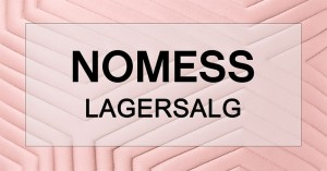 mere information omkring Nomess lagersalg
