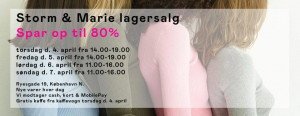 mere information omkring Storm & Marie Lagersalg