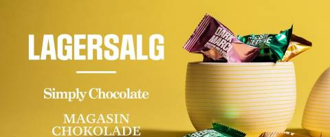 Se mere om Simply Chocolate lagersalg
